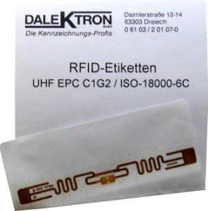 RFID-Etikett