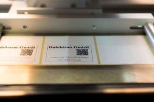 Laseraktivierbare Etiketten