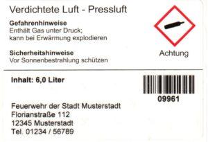 GHS-Etikett