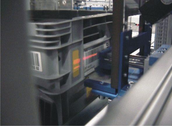 Kisten-Etikettierung vollautomatisch