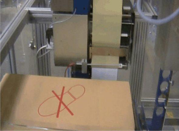 Paket-Kennzeichnung 2-seitig