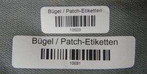Textil-Etiketten