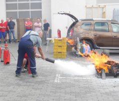 Feuerlöscher-Schulung